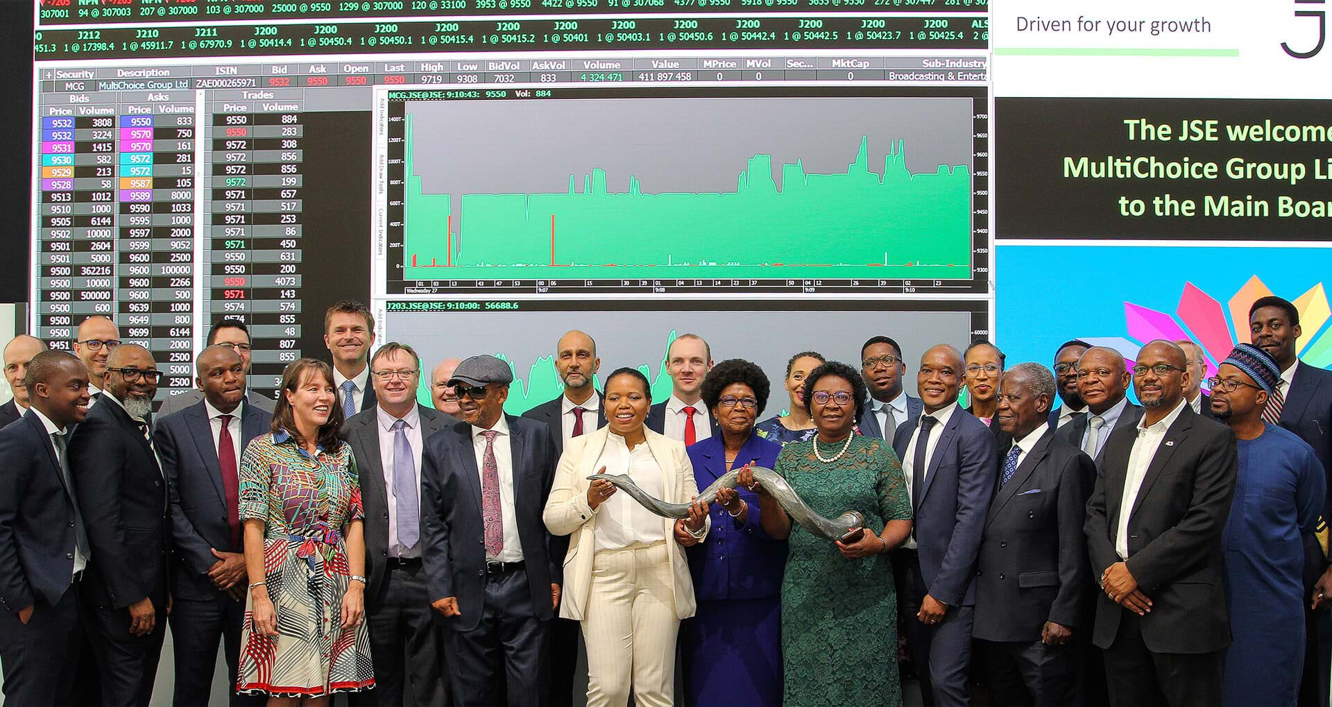 MultiChoice Group lists on the JSE- image