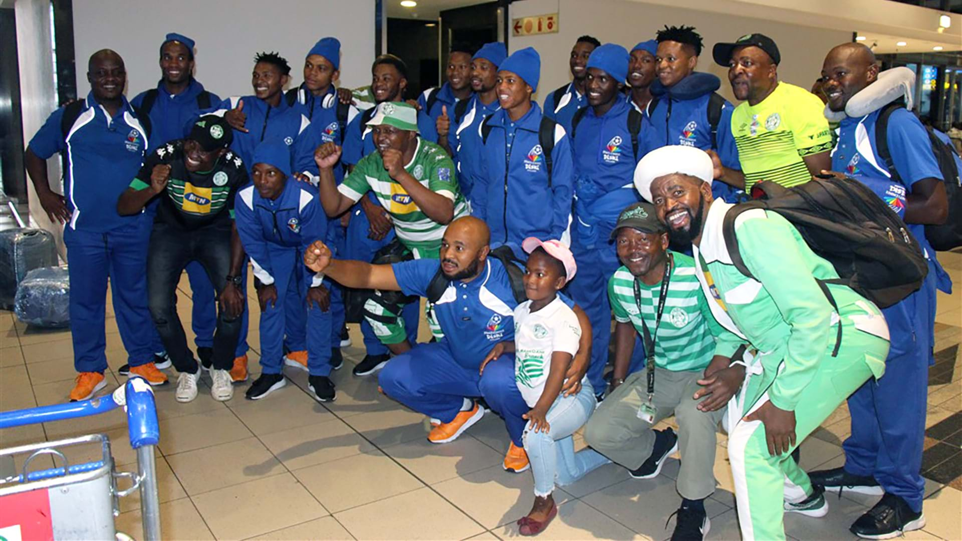 Diski Champions Bloemfontein Celtic London tour- image