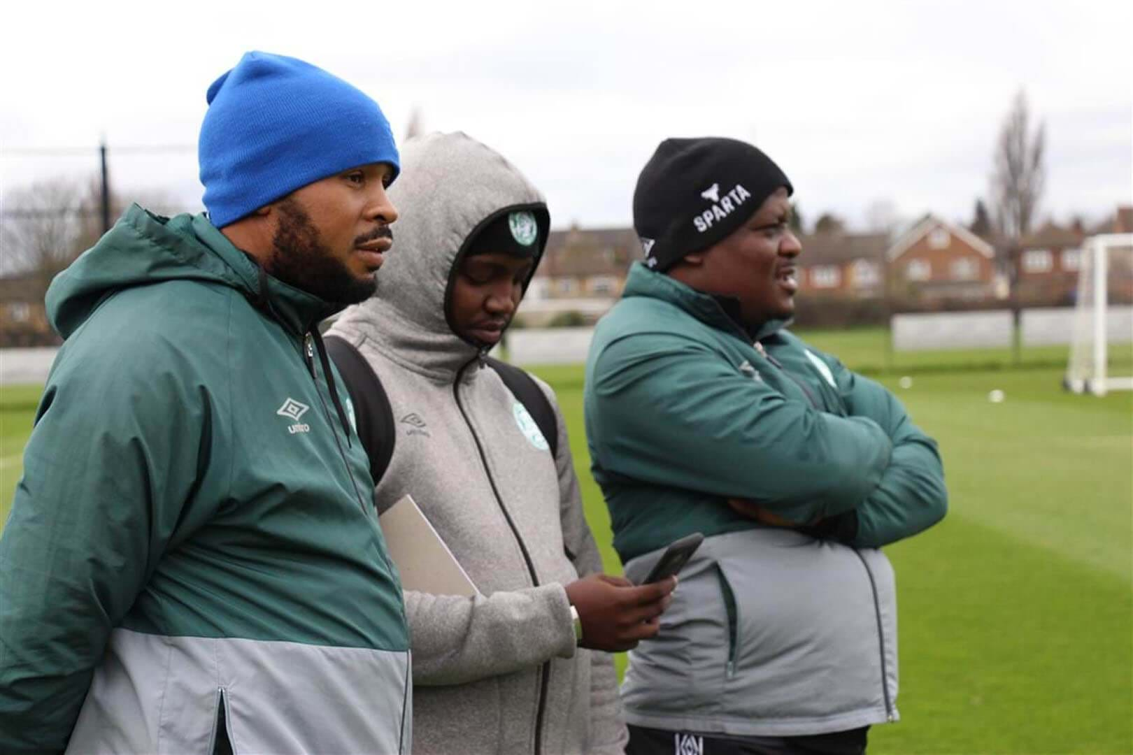Bloemfontein Celtic coach, Ditheko Mototo is proud of the tactical prowess the team has shown on their London Tour- image