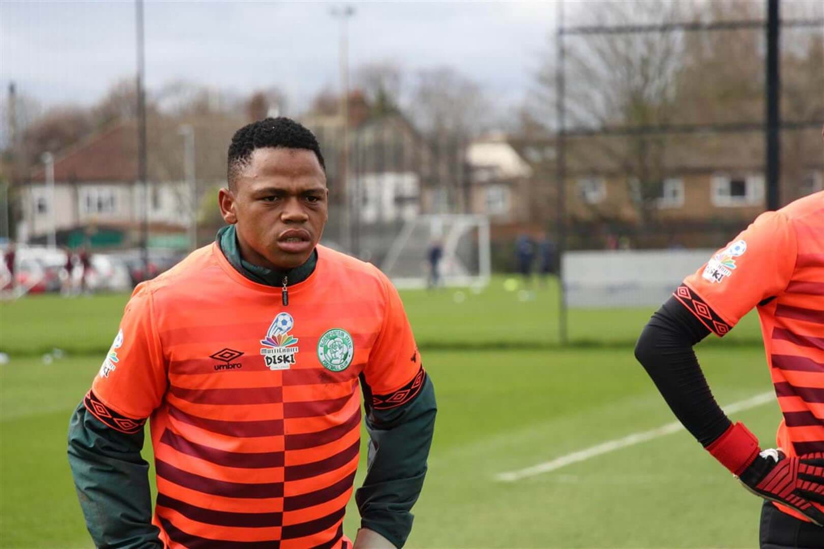 Bloemfontein Celtic's goalkeeper loving UK trip- image