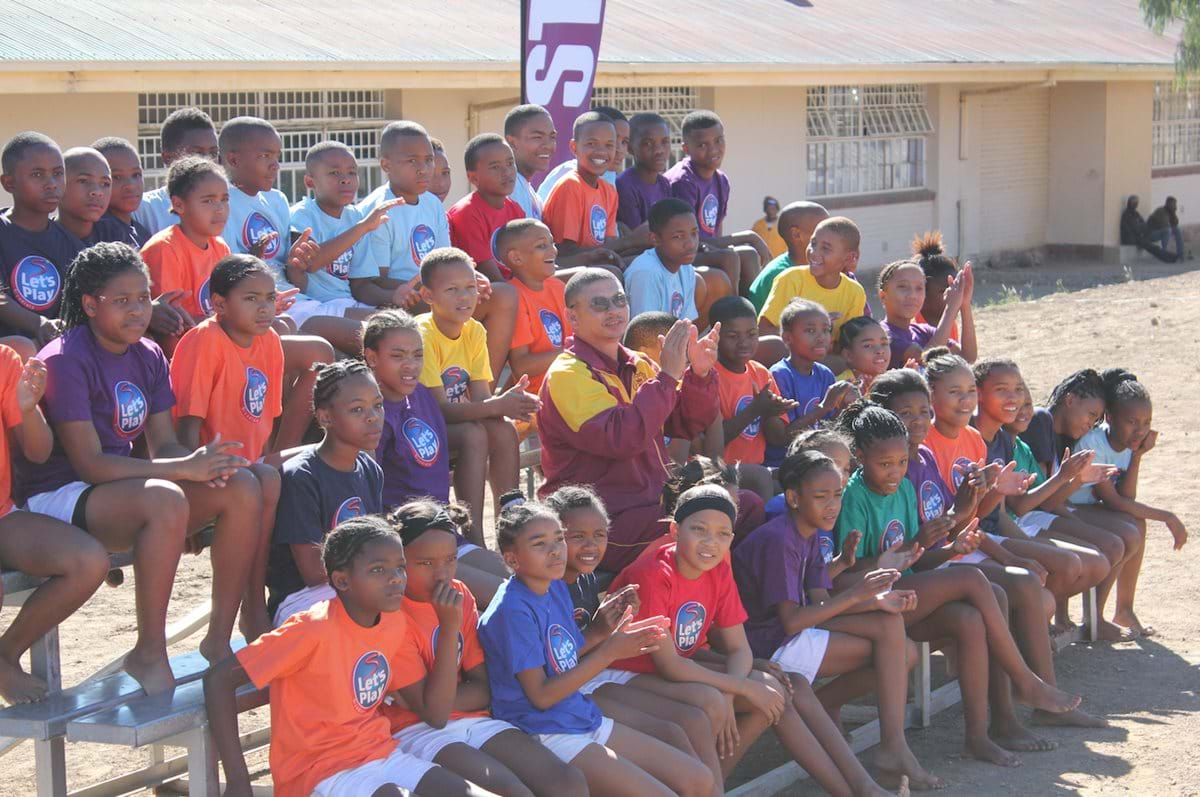Kroonvale Primary School wins sports court in Let's Play Challenge