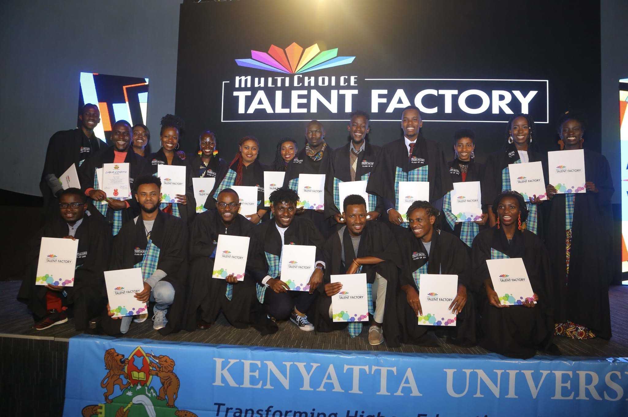 Graduation Ceremony for MTF's 1st Batch of Academy Students!