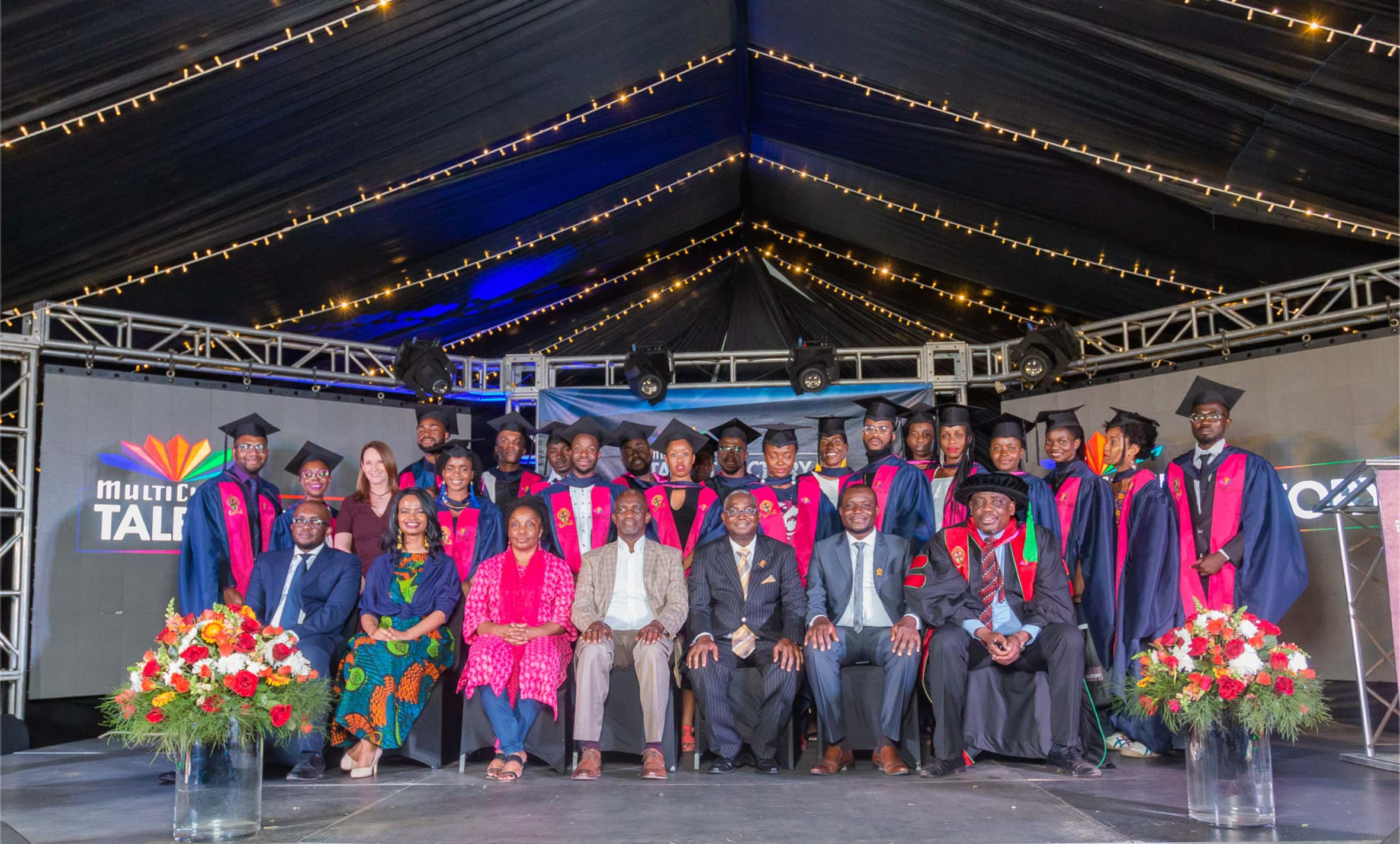 Inaugural graduation for the MultiChoice Talent Factory Southern Africa Academy!- image