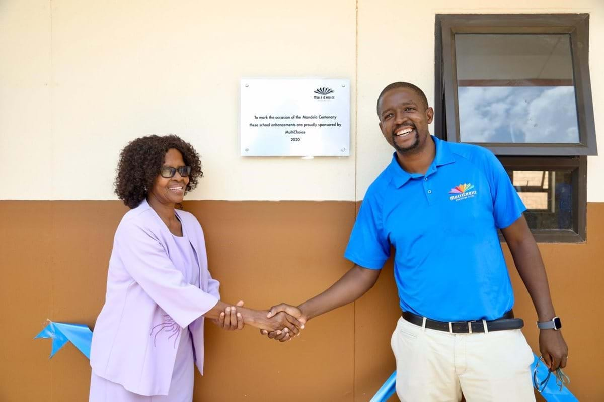 MultiChoice supports school infrastructure programme in honour of Mandela Centenary Initiative