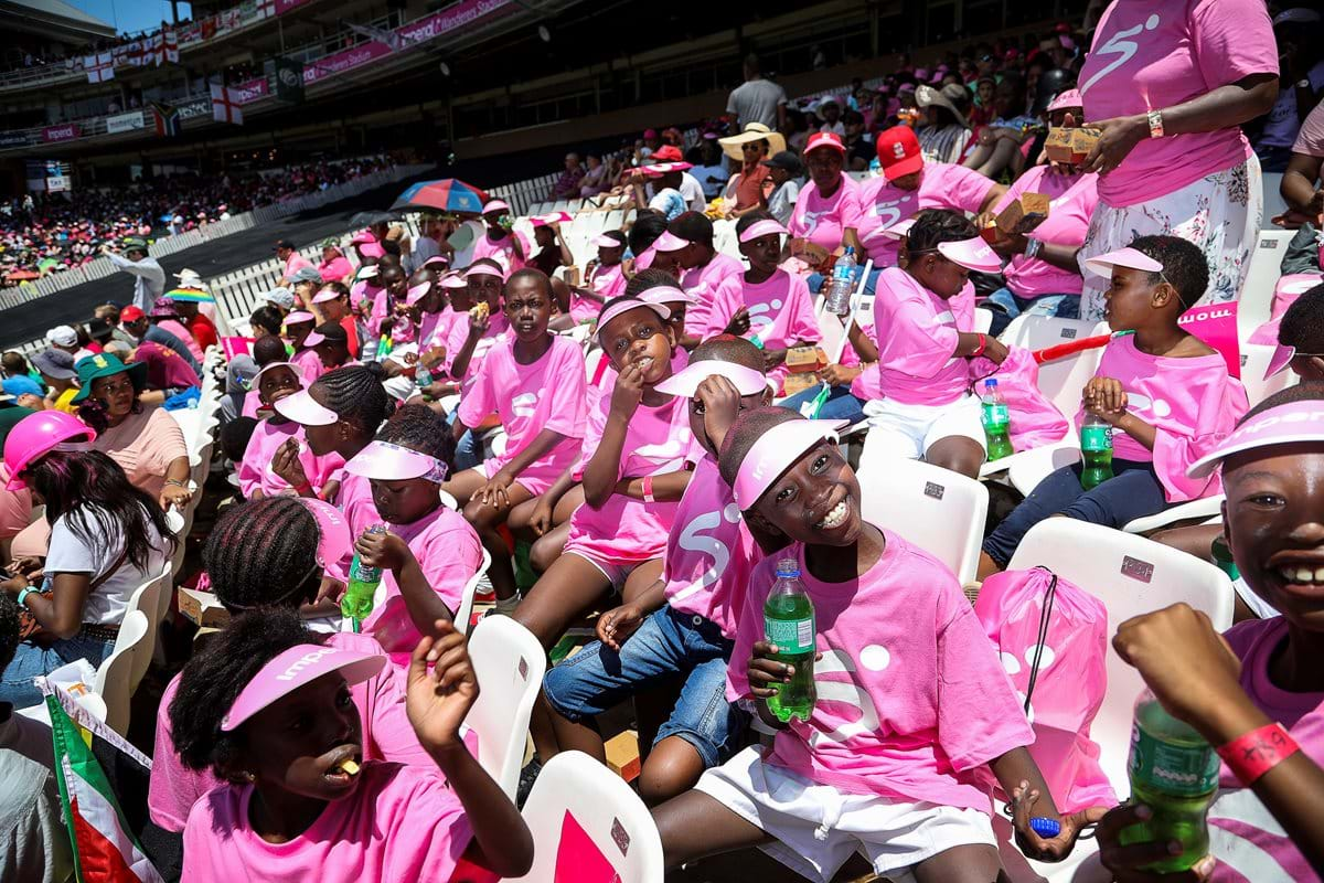 SuperSport hosts 36 children from the Alexandra Cricket Club