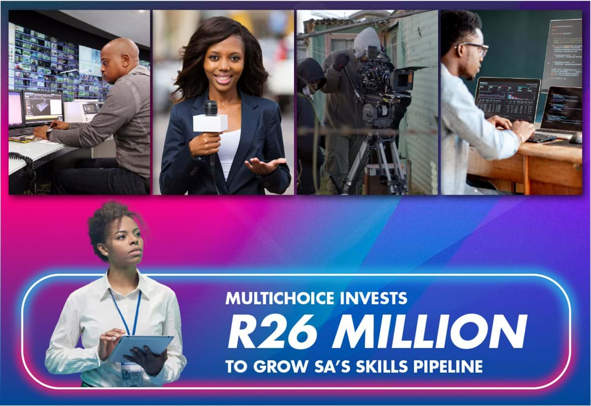 MultiChoice invests R26 million to grow SA's skills pipeline